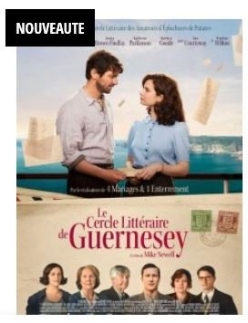 CINEMA FILM LE CERCLE LITTERAIRE DE GUERNESEY