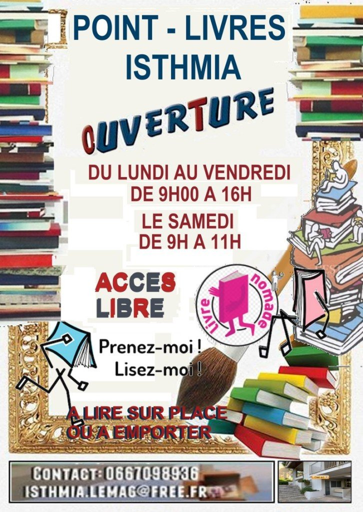 POINT LIVRES HORAIRES
