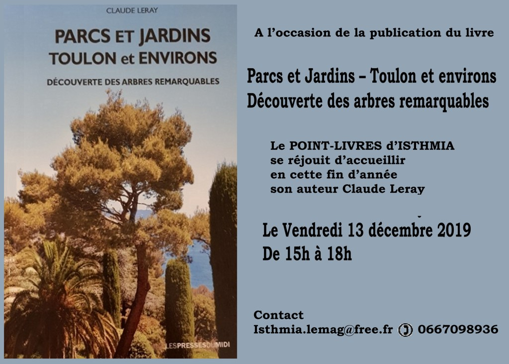 INVITATION LIVRE CLAUDE LERAY TOULON