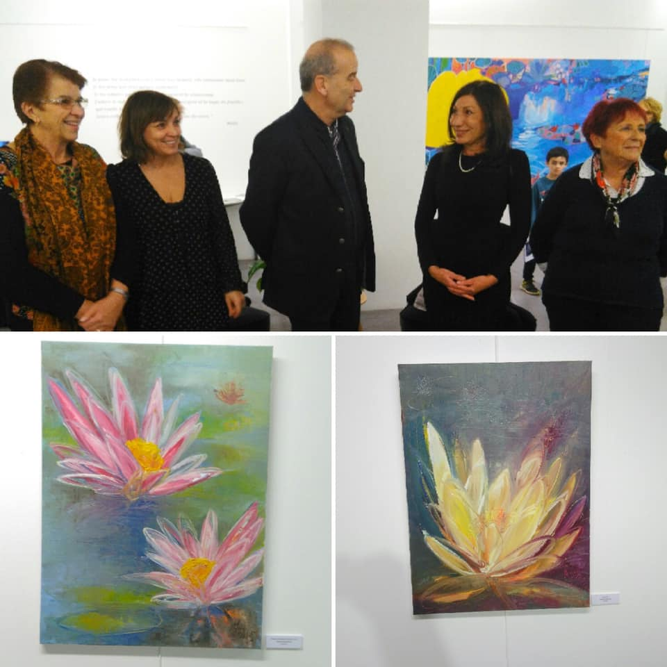 VERNISSAGE MOLIO NYMPHEAS LA VALETTE