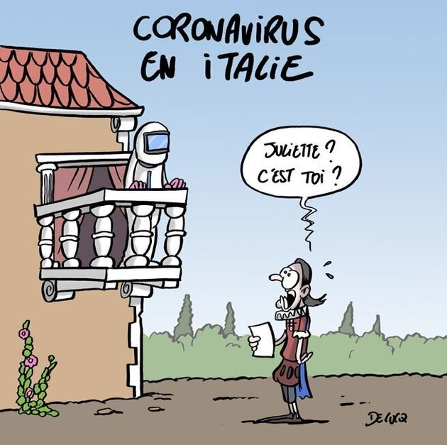 CORONAVIRUS ROMEO ET JULIETTE