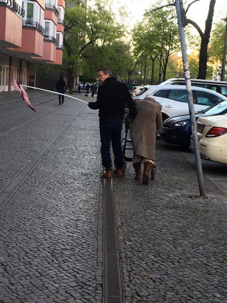 Distance de sécurité à Berlin