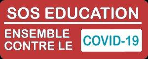 LOGO SOS EDUCATION COVID-19