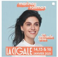 MARINA ROLLMAN une humoriste suisse remarquable