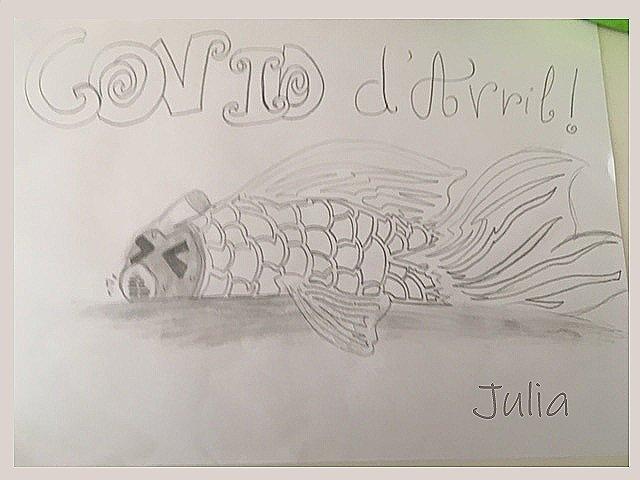 POISSON CORONAVIRUS JULIA