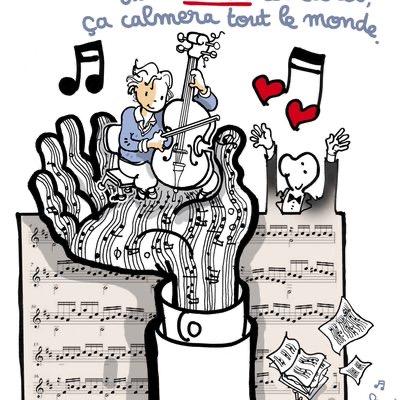 COVID MUSIQUE CA CALMERA TOUT LE MONDE
